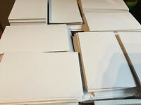 JOBLOT-5000 WHITE CARD-,11cm x 7cm,TOP QUALITY,ARTS/CRAFTS,IDEAL FOR PRINTING