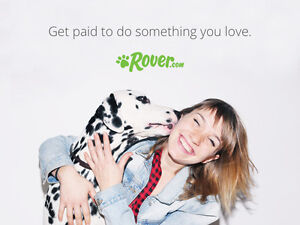 Rover / Become a Dog Sitter - Work from Home
