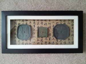 Oriental Shadow Box Art