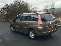 CITROEN c4 GRAND PICCASSO vtr automatic, 1.6 diesel hdi, 7 seater, lond mot, 1 former keeper, 110k,