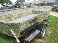 2015 Alumacraft CHALOUPE WATER FOWLER 16 PIEDS CAMOUFLAGE