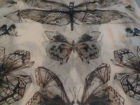 Large scarf by ESPRIT with butterfly design