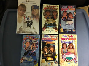 Mary-Kate & Ashley VHS Videos