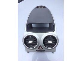 Corsa d sxi 2009 plastic dash trim with heater vents 07594145438