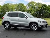 Volkswagen TIGUAN MATCH TDI BLUEMOTION TECHNOLOGY (silver) 2014