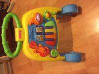Fisher-Price Brilliant Basics Musical Walker