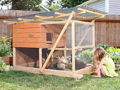 Backyard Chicken Coop Plans The Garden Ark Plan How-to Ebook On Usb Flash Drive