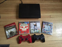 Sony PS3 2 controllers + Games 150 OBO