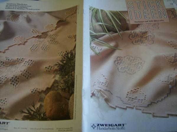 Stick Ideen #3256 Bellana Hardanger Booklet With 6 Designs-German Text