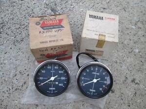 Yamaha RX100 Speedometer / Tachometer /// NOS