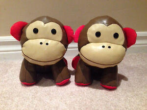 Skip Hop monkey bookends