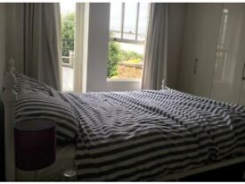 White king size bed west london