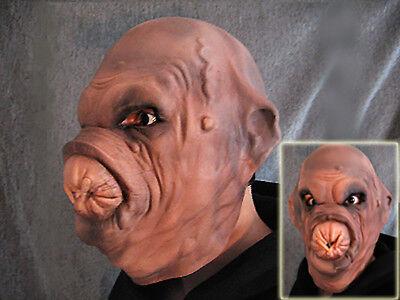 Latexmaske KLOAKEN ALIEN - Horror Effekt Gummi Latex Maske SF Space Halloween
