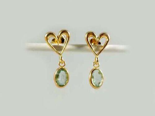 Antique 19thC Siberian Emerald Ancient Christian Sumerian Immortality Gem Dangle