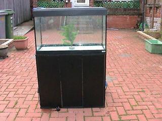 Fluval roma 125 * cabinet * stand vgc fish tank aquarium, no tank