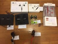 Bluetooth headsets - all brand new in box