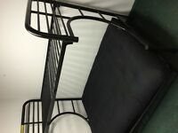 bunkbeds with futon double under single MATTRESSES SOLD EXTRA