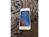 Apple iphone 5 in brand condition for sale !! Unlocked silver colour