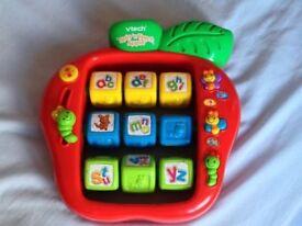VTech Spin 'n Teach Apple Toy