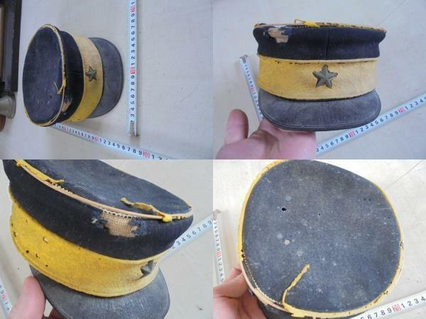Japanese Army Non-commissioned Soldier Graduate Hat Cap Military Antique JAPAN
