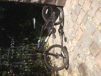 """Vélo BMX HARO noir ( roues 20 pouces) avec """"pegs"""""""
