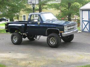 1973-1987 Square body truck