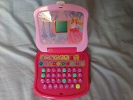 Barbie in the 12 Dancing Princesses game laptop Mattel