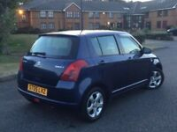 Suzuki swift, 54k only service history, long mot, very clean car,