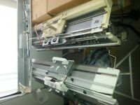 2 knitting machines