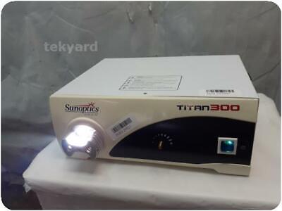 Sunoptics Surgical Titan300 S300t Light Source 255605