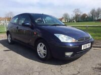2001 FORD FOCUS NOVEMBER MOT SERVICE HISTORY GREAT CONDITION