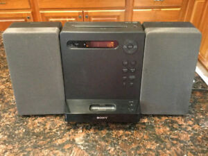 Sony Audio Stereo Receiver, Tuner, Cd Player, Audio In- With Rem