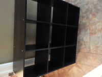 SHELVES/DISPLAY UNIT - Fits fabric square storage boxes
