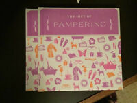 Hallmark 'The Gift of Pampering' book NEW