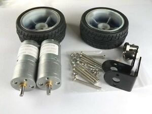 Smart-car-Robot-Self-balancing-Kits-Wheel-12V-Motor-Motor-bracket-Connector