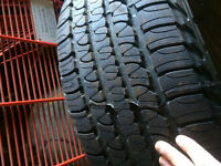 2 JEEP GRAND CHEROKEE RIMS AND TIRES! $175. 245/65 R17