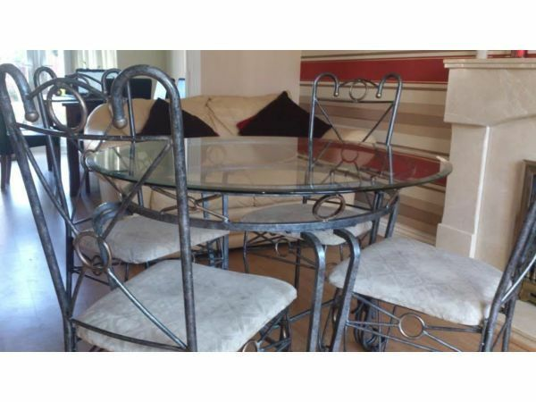 Glass Dining Table And 4 Chairs In Houghton Le Spring Tyne And Wear Gumtree
