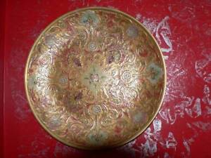 BRASS PAINTED PLATES