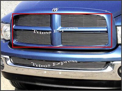 fits 2002-2005 Dodge Ram 1500/2500 Billet Grille-Upper (2005 Dodge Ram 2500 Grill)