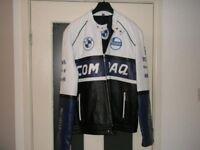 BMW Compaq Leather Jacket New
