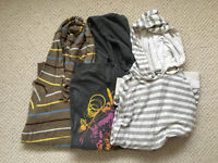 Three hoodies topman and river island size small