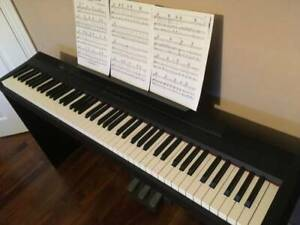 Yamaha piano P-105 & Stand & 3 intensive pedal unit - 88 notes