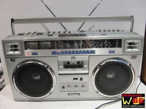 JVC RC-M70jw Boom Box Ghetto Blaster Radio Cassette Player