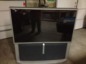 "SONY REAR PROJECTION TV 57"" EXCELLENT PICTURE"