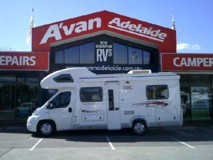 2012 AVAN OVATION M3 C CLASS MOTORHOME Hillcrest Port Adelaide Area Preview