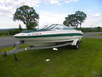 19` Sea Ray Bowrider 1993 Fast & Solid