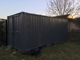 20ft x 8ft storage container to let in secure yard Fenton st4 2pt