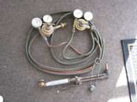 USED Gas Welding, Cutting, Brazing and Heating Torches (2 sets)