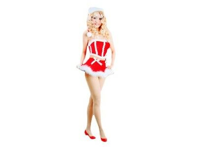 Weihnachts-kostüm für Frauen Damen sexy Santa Weihnachtsfrau Weihnachtsmann 103