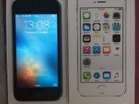 iPhone 5s 16gb Grey & Black Boxed 02/Giff Gaff/Tesco Sim Locked
